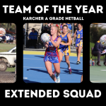 Karcher Netball A Grade Team of the Year – Extended Squads